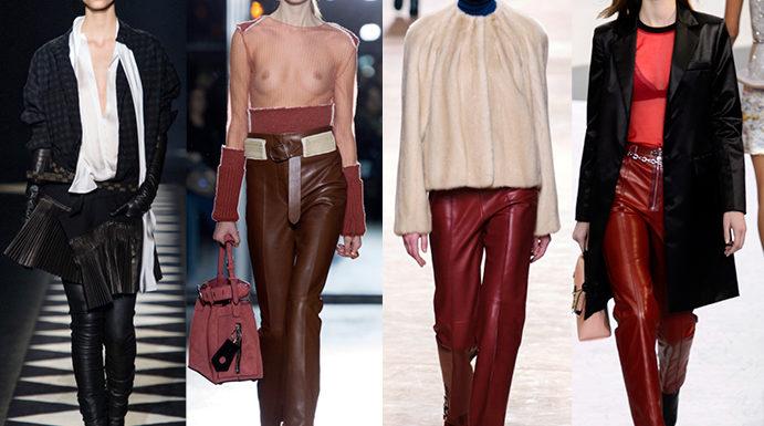 Модные брюки осень-зима 2017-2018