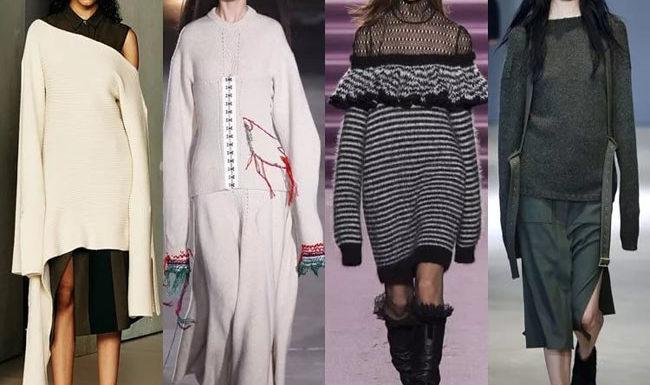 Для девушек  Уличная мода осень-зима 2018 года