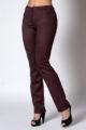 Брюки элегантные классические женские 2106/3 (бордо)